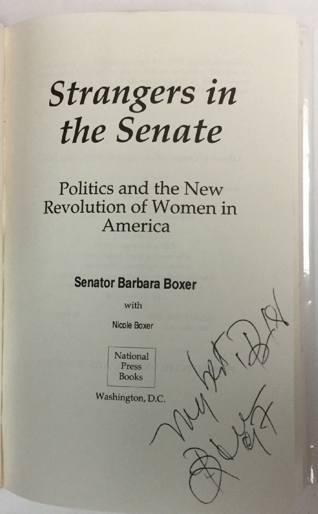 Image for Strangers in the Senate: Politics and the New Revolution of Women in America