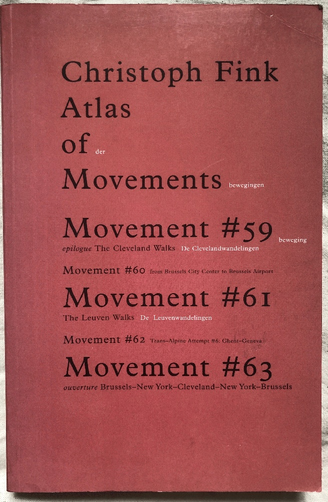 Image for Christoph Fink. Atlas of Movements #59, #60, #61, #62, #63