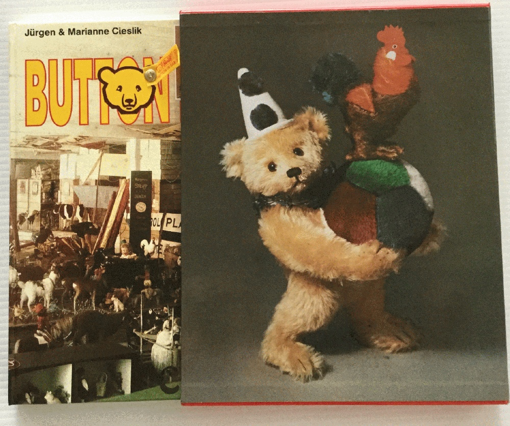 Image for Button in Ear : The Steiff Encyclopedia, The History of Teddy Bears and His Friends