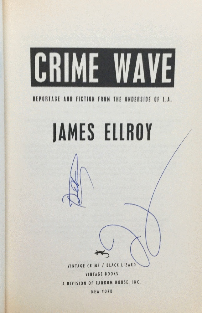 Image for Crime Wave: Reportage and Fiction from the Underside of L.A.