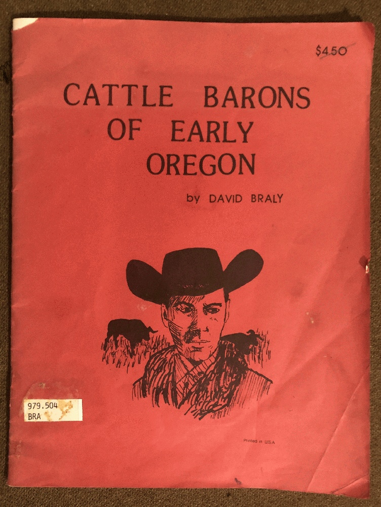 Image for Cattle Barons of Early Oregon