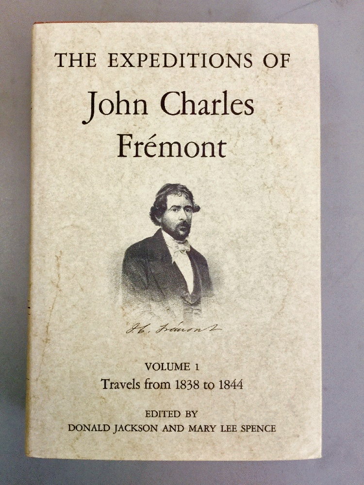 Image for The Expeditions of John Charles Fremont, Vol. 1: Travels from 1838 to 1844