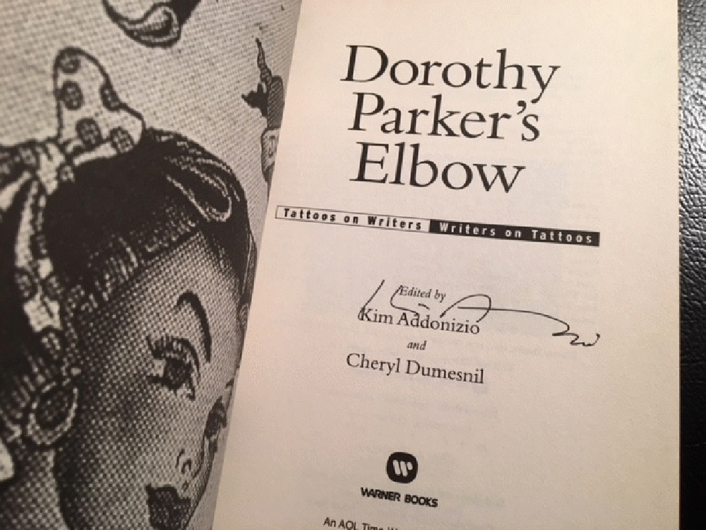 Image for Dorothy Parker's Elbow: Tattoos on Writers, Writers on Tattoos
