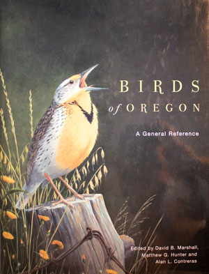 book cover: Birds of Oregon: A General Reference