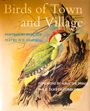 book cover: Birds of Town and Village