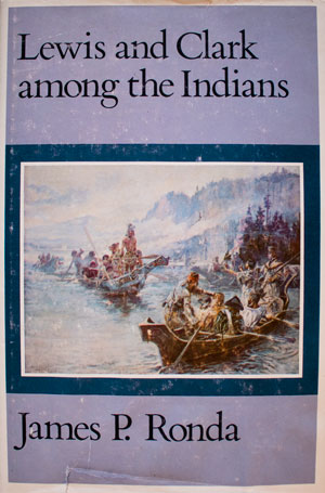 book cover: Lewis and Clark Among the Indians