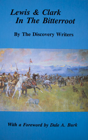 book cover: Lewis and Clark in the Bitterroot