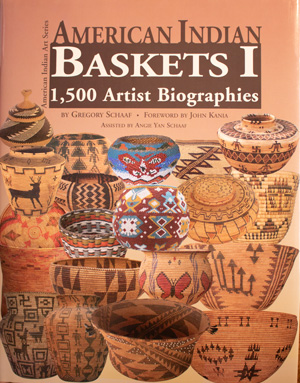 book cover: American Indian Baskets I: 1500 Artist Biographies
