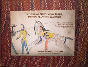 book cover: Rubbing Out Long Hair