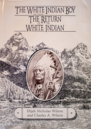 book cover: The White Indian Boy and The Return of the White Indian