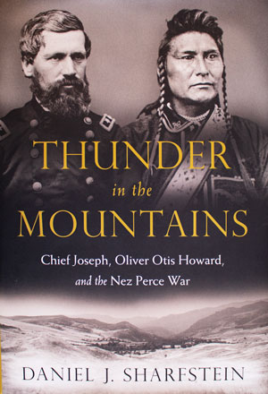book cover: Thunder in the Mountains: Chief Joseph, Oliver Otis Howard, and the Nez Perce War