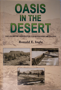 book cover: Oasis in the Desert: The Story of Hermiston from Sagebrush to City