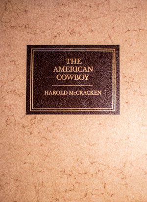 book cover: The American Cowboy